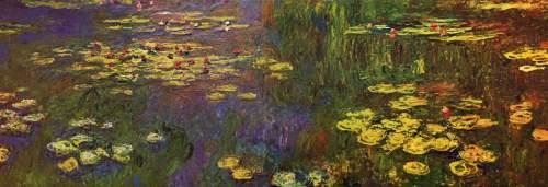 Claude Monet, Ninfee, 1920-26, Musée de l'Orangerie, Paris