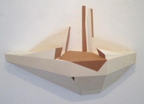 Simone Luschi, Senza titolo, 2015, legno