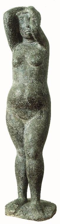 Marino Marini, Pomona, 1943-44, bronzo, cm 107.6x27.8x26.4, Pistoia, Fondazione Marino Marini